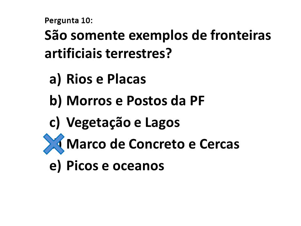 Marco de Concreto e Cercas Picos e oceanos
