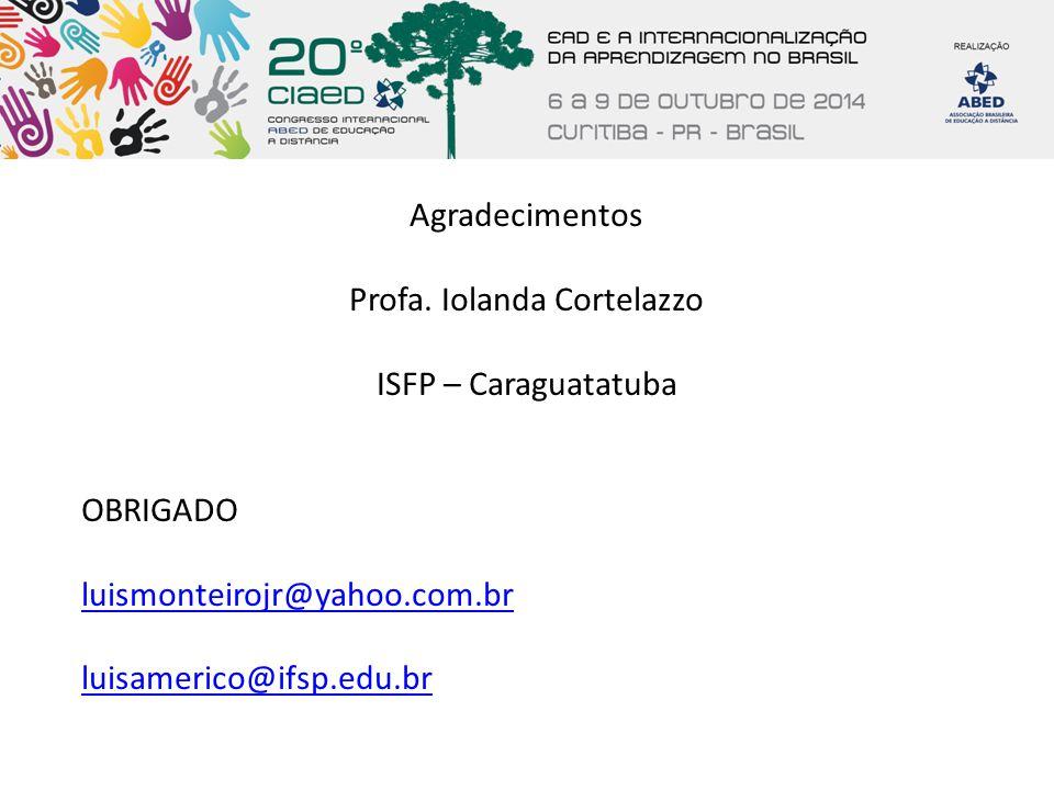 Profa. Iolanda Cortelazzo