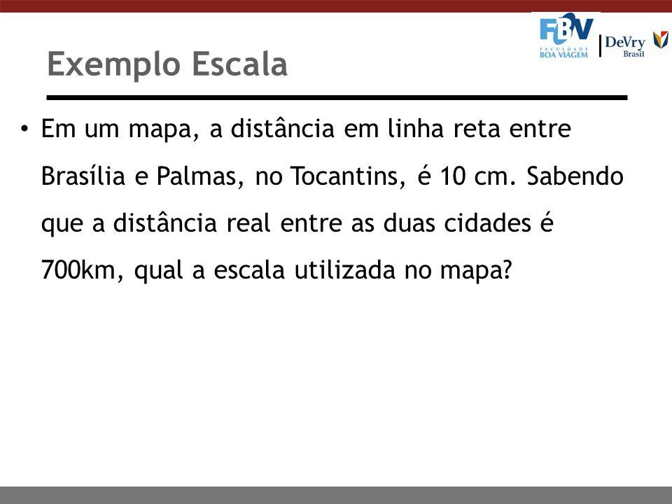 Exemplo Escala