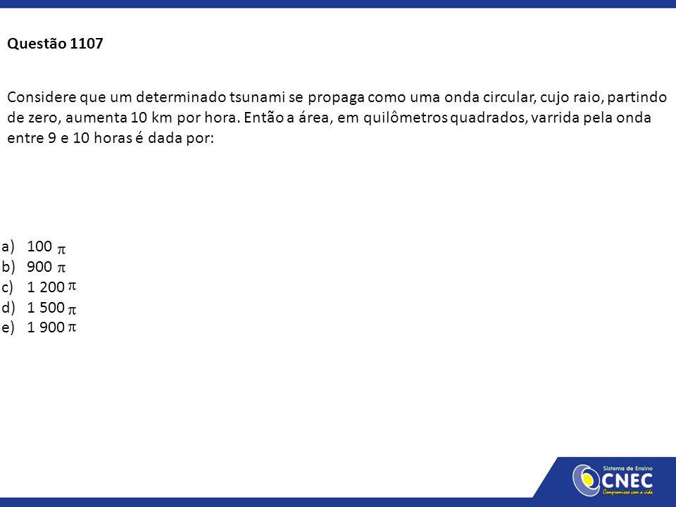 Questão 1107