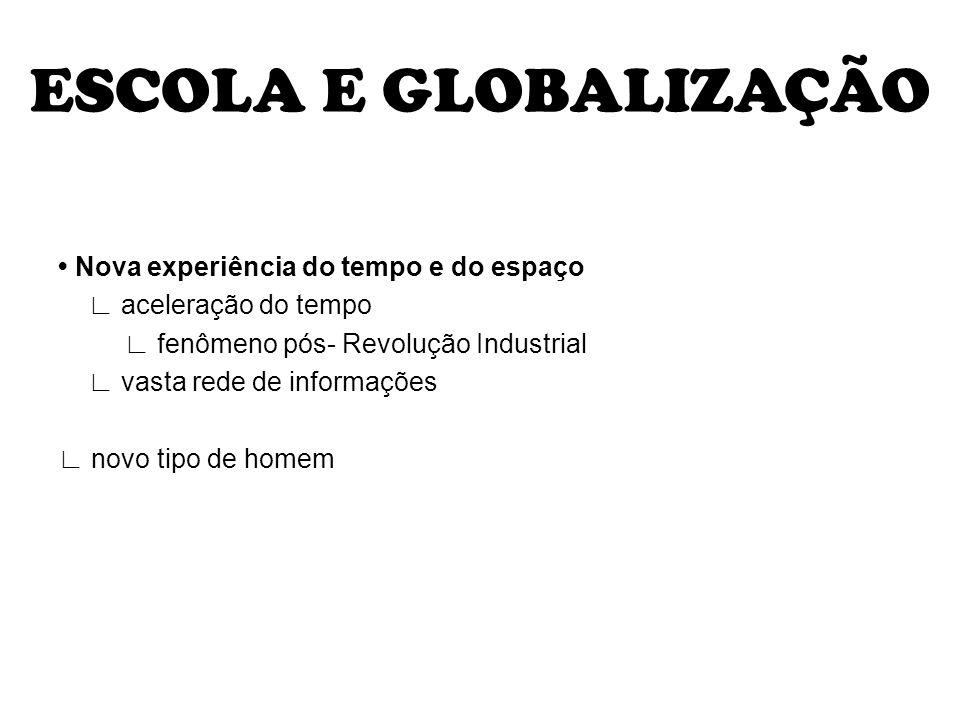 ESCOLA E GLOBALIZAÇÃO