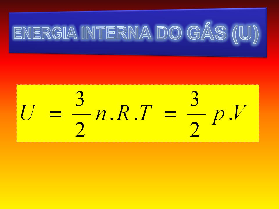 ENERGIA INTERNA DO GÁS (U)
