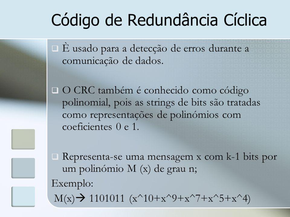 Código de Redundância Cíclica