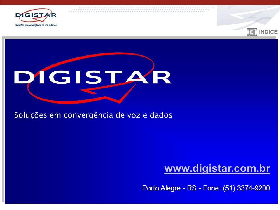 ÍNDICE www.digistar.com.br Porto Alegre - RS - Fone: (51) 3374-9200