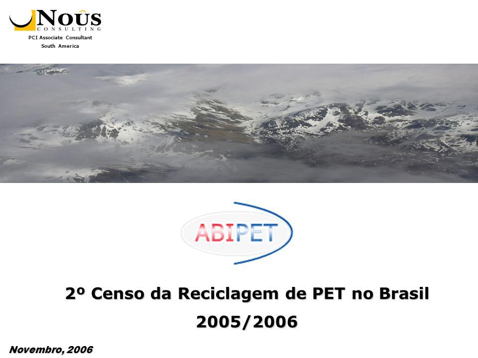 2º Censo da Reciclagem de PET no Brasil