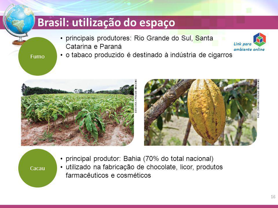principais produtores: Rio Grande do Sul, Santa Catarina e Paraná
