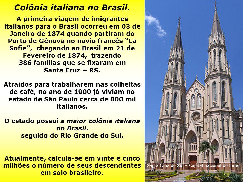 Colônia italiana no Brasil