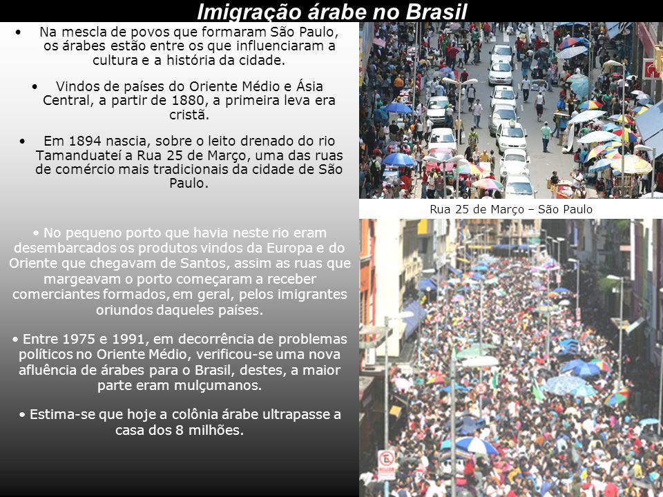 Imigração árabe no Brasil