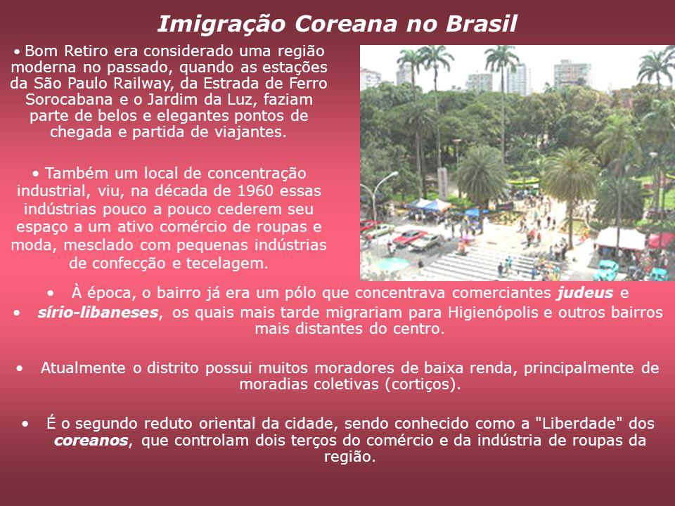 Imigração Coreana no Brasil
