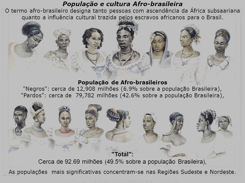 População e cultura Afro-brasileira