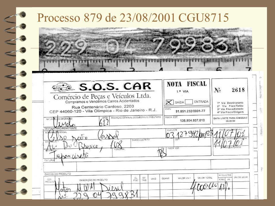 Processo 879 de 23/08/2001 CGU8715