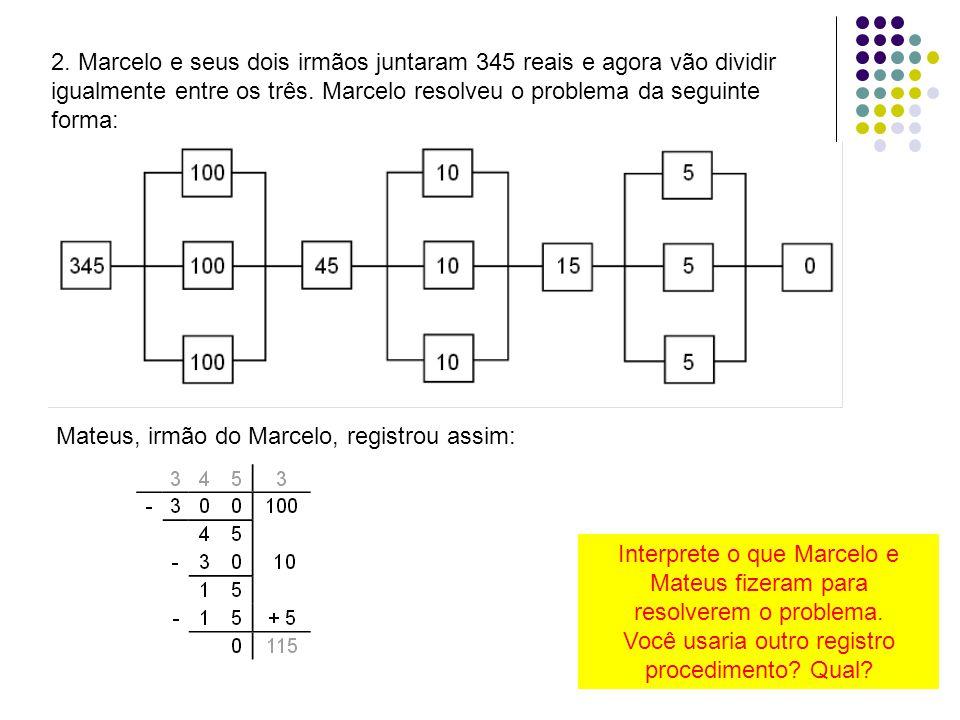 Mateus, irmão do Marcelo, registrou assim: