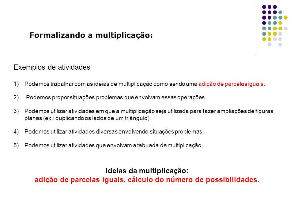 Formalizando a multiplicação: