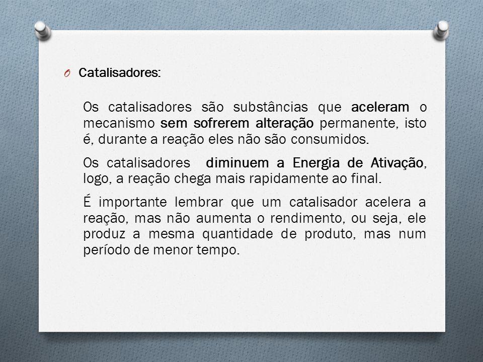 Catalisadores: