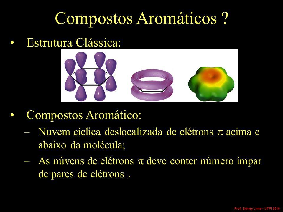 Compostos Aromáticos Estrutura Clássica: Compostos Aromático: