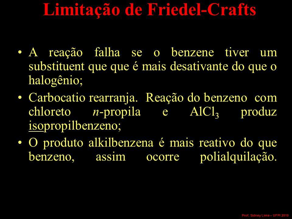 Limitação de Friedel-Crafts