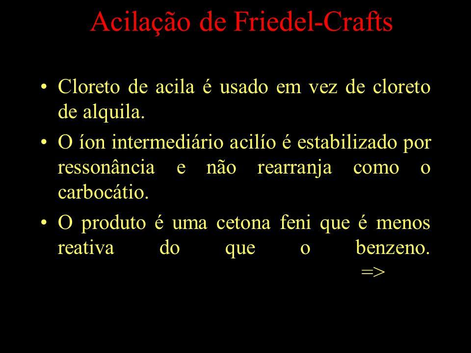 Acilação de Friedel-Crafts