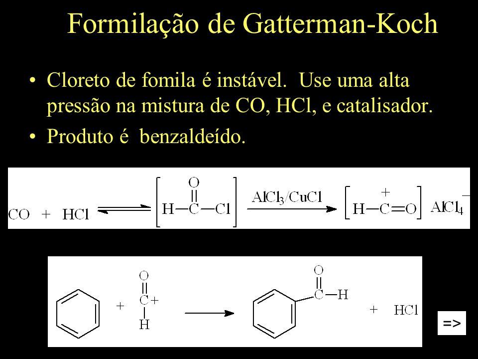 Formilação de Gatterman-Koch