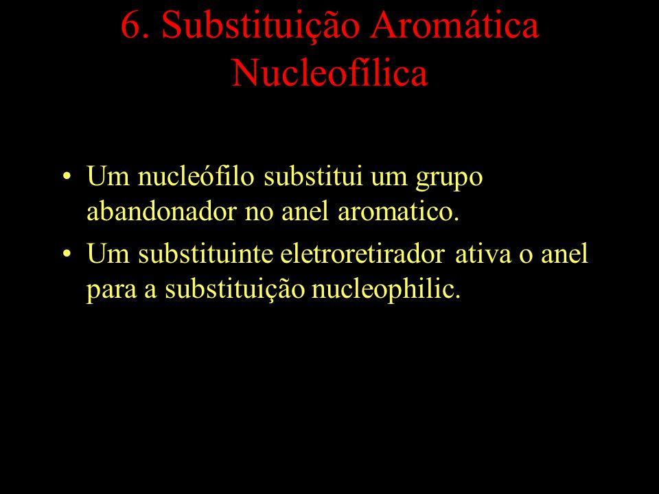 6. Substituição Aromática Nucleofílica