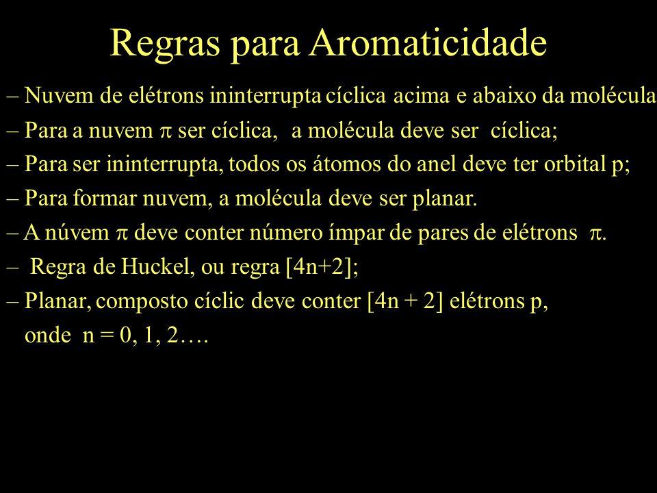 Regras para Aromaticidade