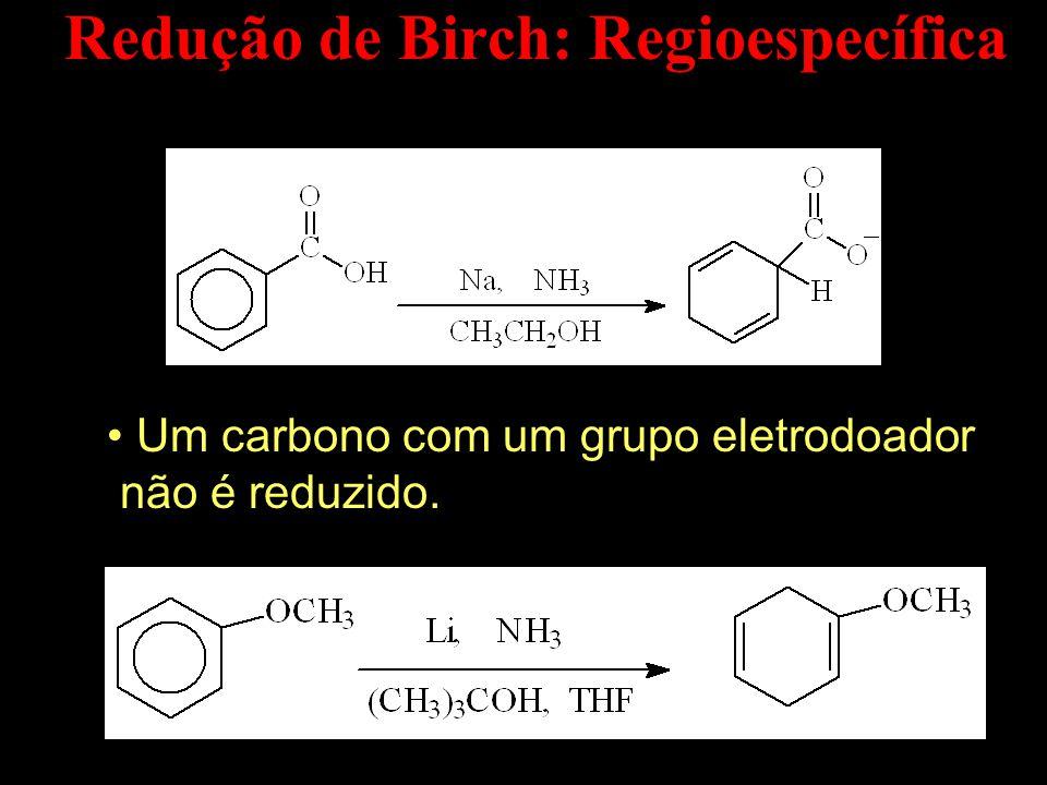 Redução de Birch: Regioespecífica