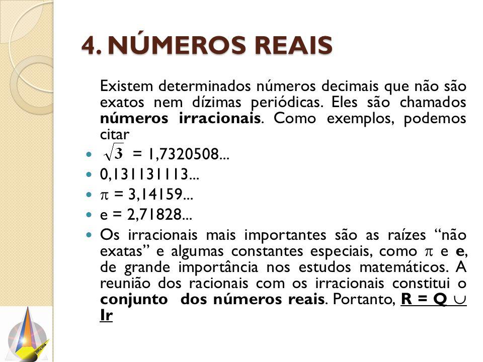 4. Números reais
