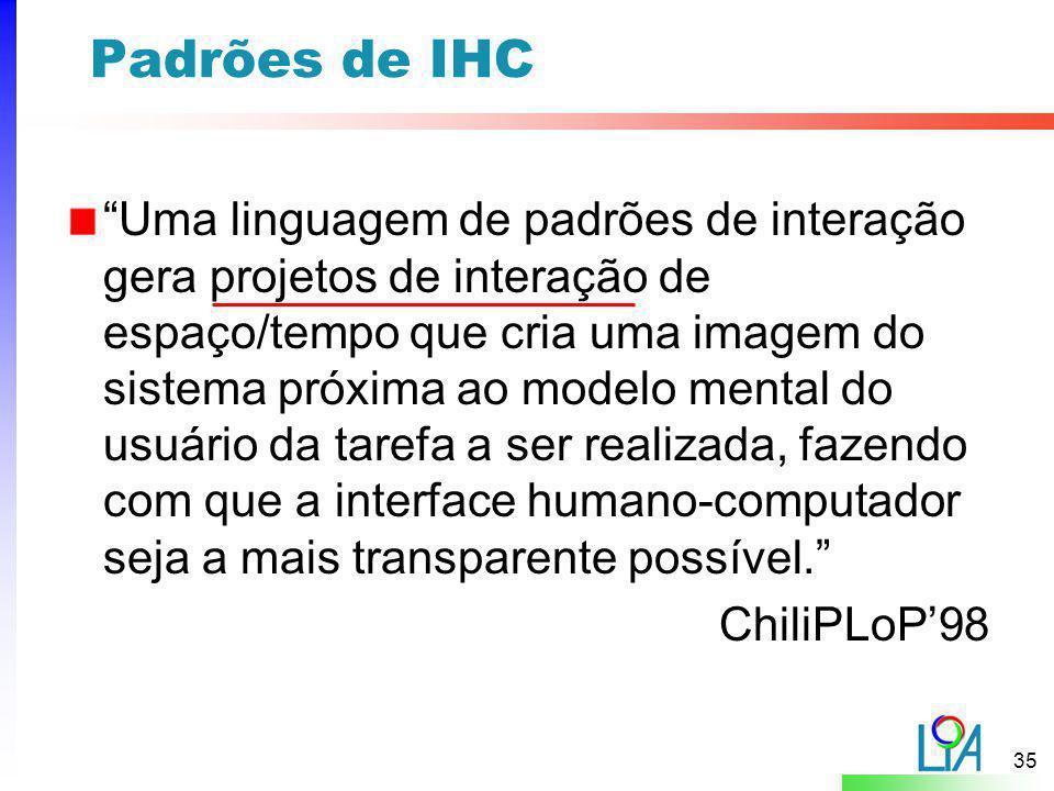 Padrões de IHC