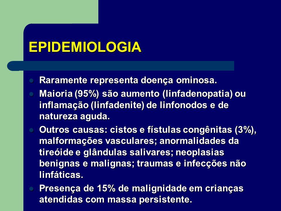 EPIDEMIOLOGIA Raramente representa doença ominosa.