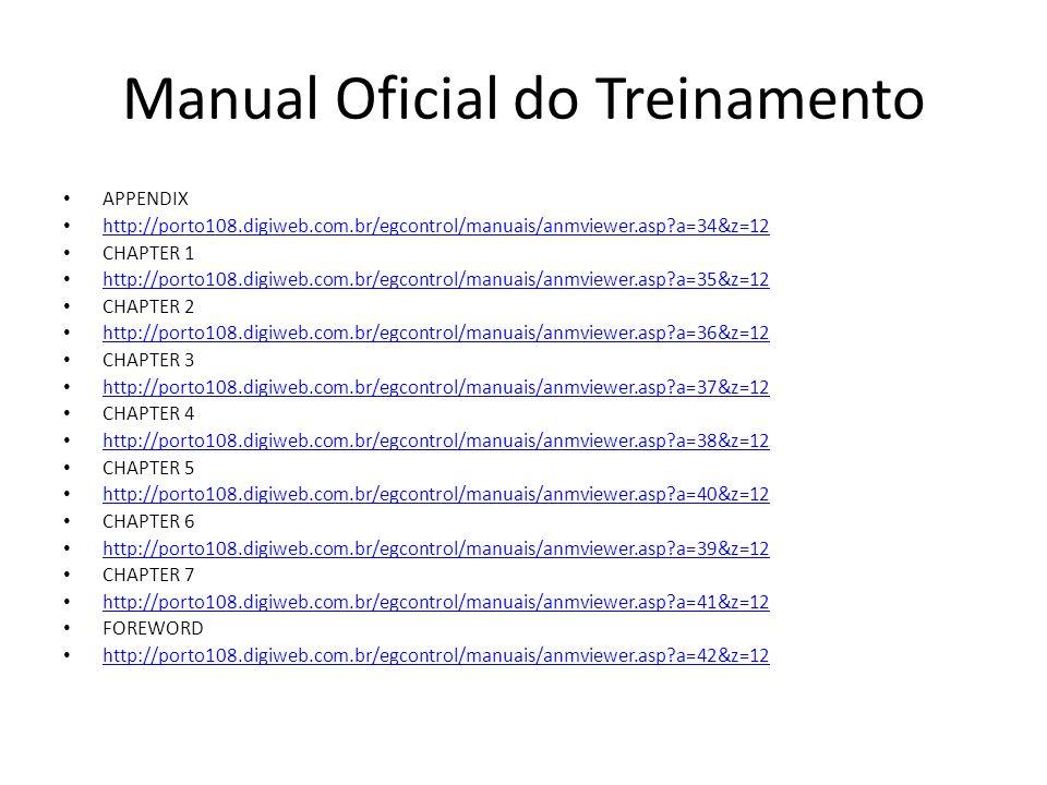 Manual Oficial do Treinamento