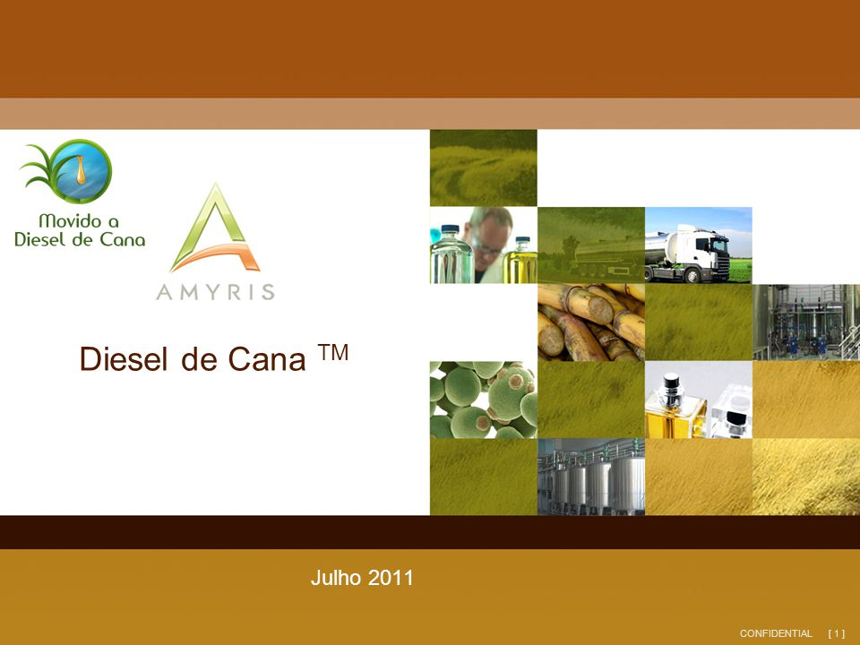 Diesel de Cana TM Julho 2011