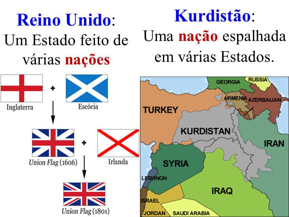 Reino Unido: Um Estado feito de várias nações