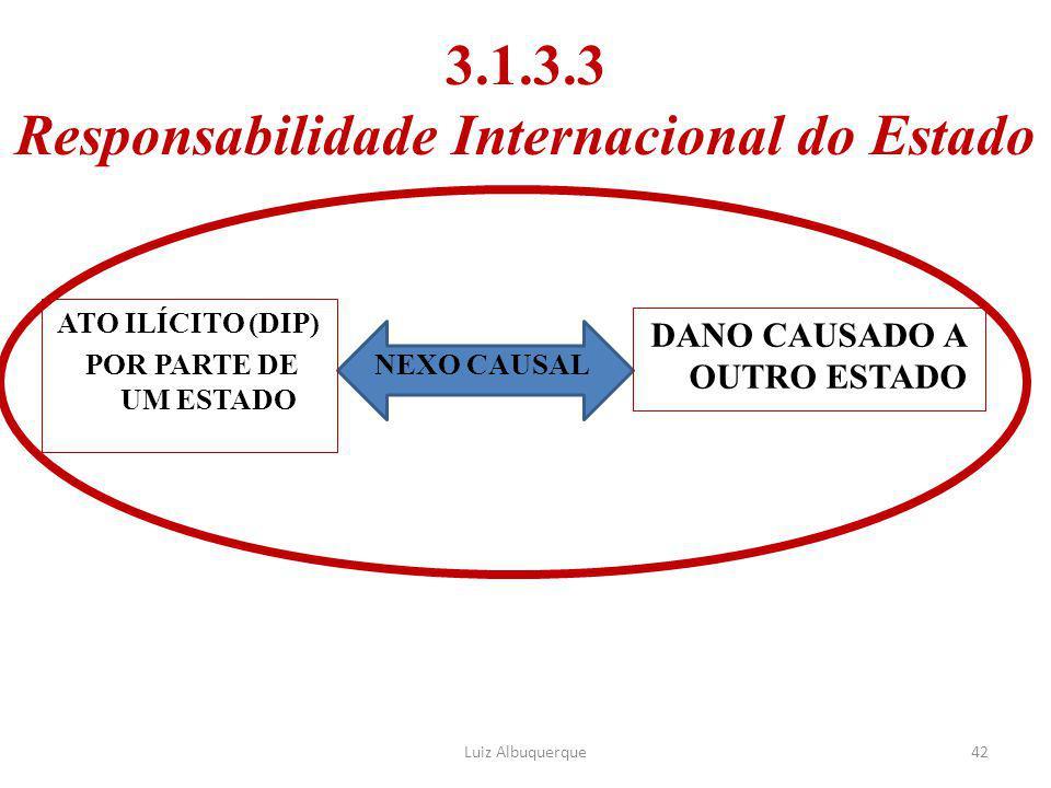 3.1.3.3 Responsabilidade Internacional do Estado