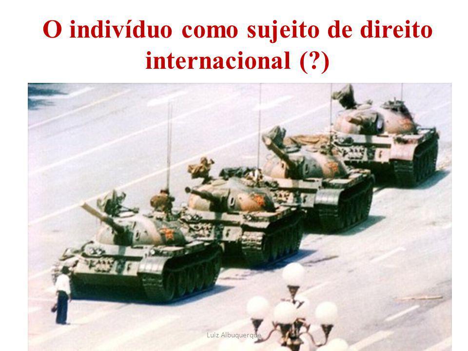 O indivíduo como sujeito de direito internacional ( )