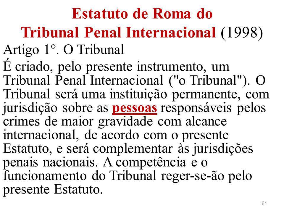 Estatuto de Roma do Tribunal Penal Internacional (1998)