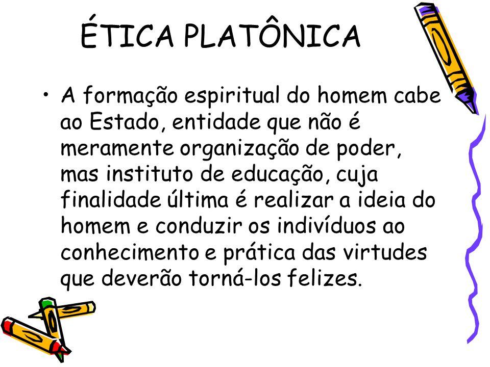 ÉTICA PLATÔNICA