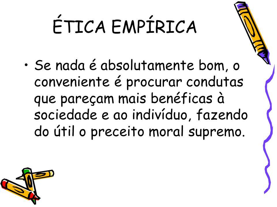 ÉTICA EMPÍRICA