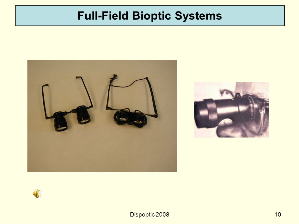 Full-Field Bioptic Systems