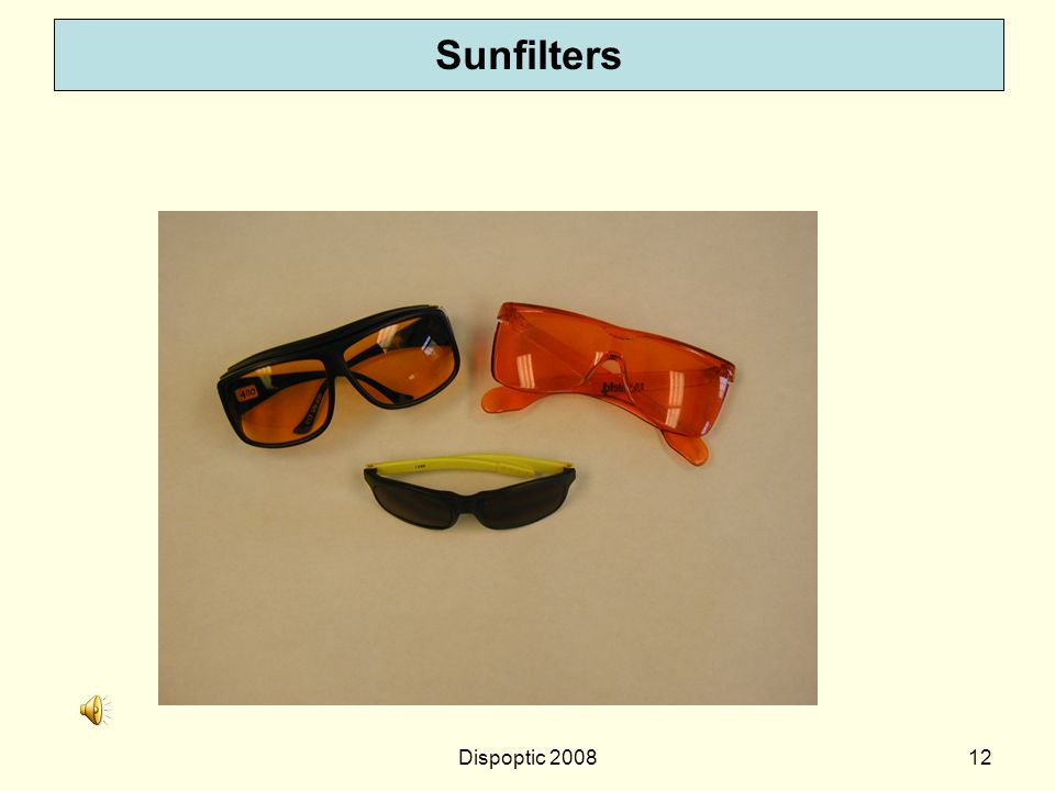 Sunfilters Dispoptic 2008