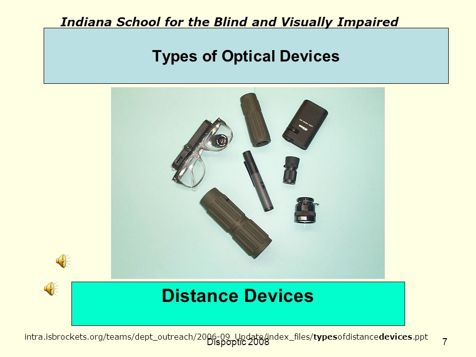 Types of Optical Devices