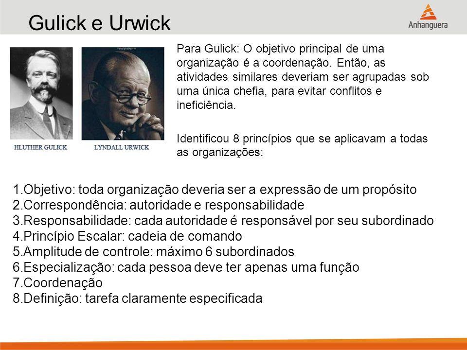 Gulick e Urwick