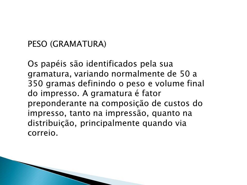PESO (GRAMATURA)
