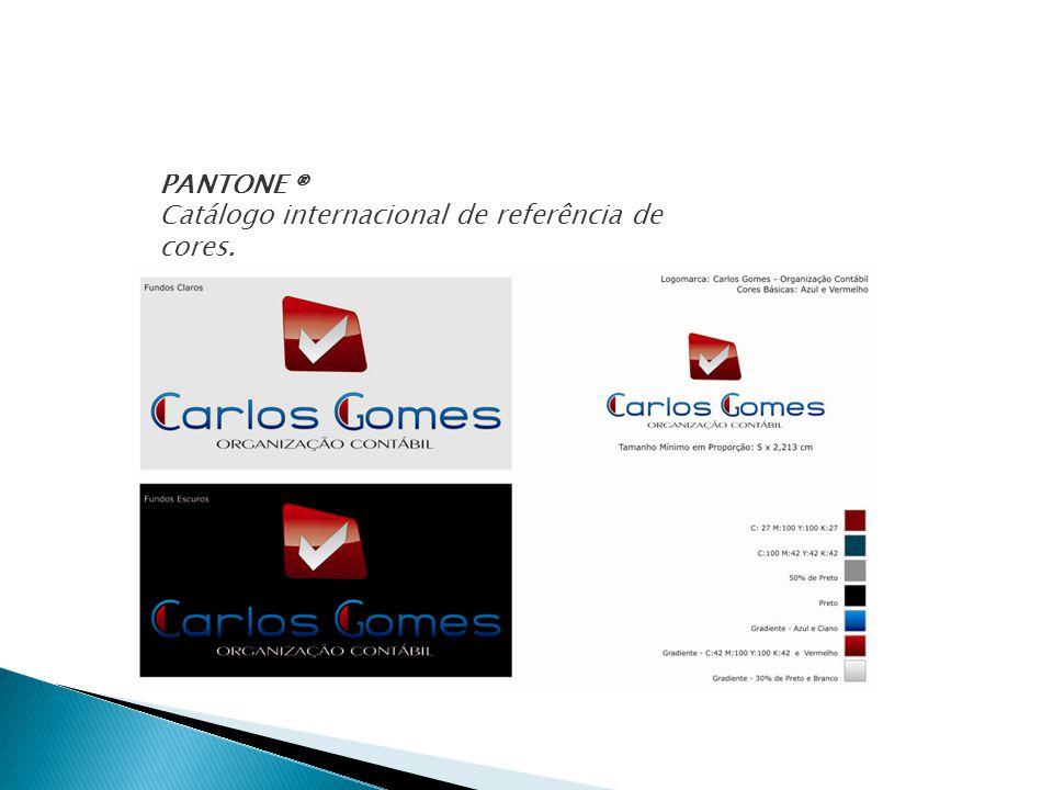 PANTONE ® Catálogo internacional de referência de cores.