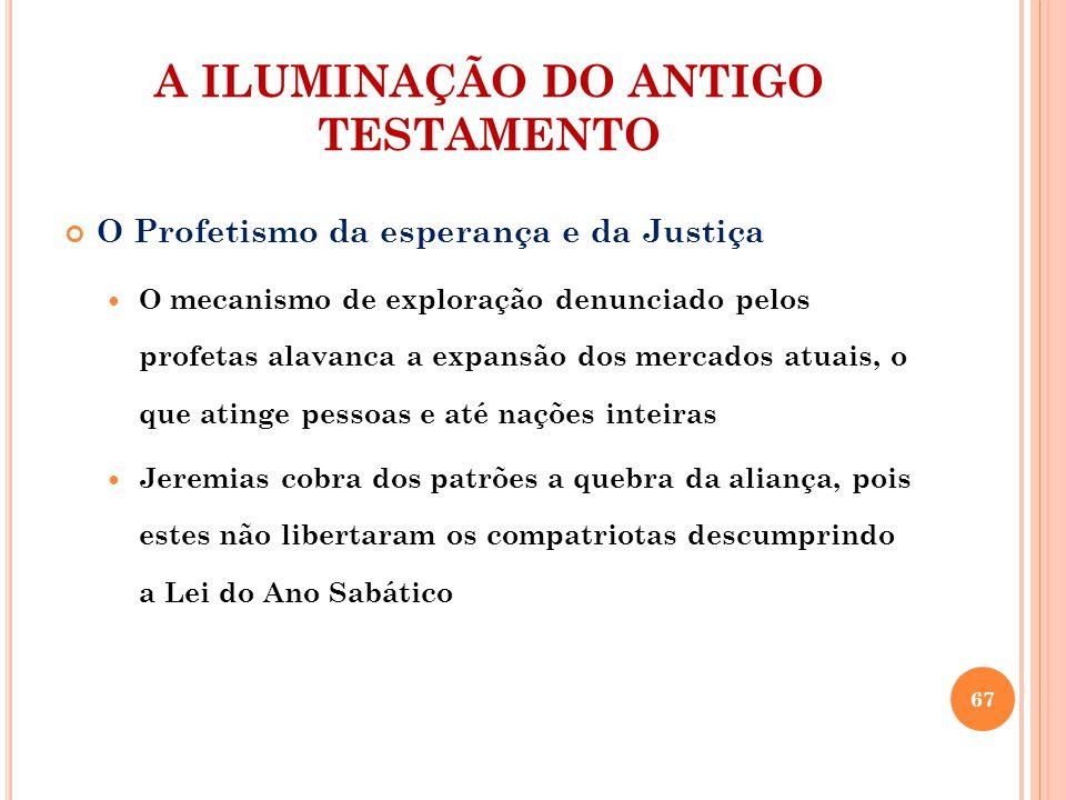 A ILUMINAÇÃO DO ANTIGO TESTAMENTO