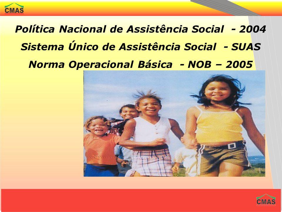 Política Nacional de Assistência Social - 2004