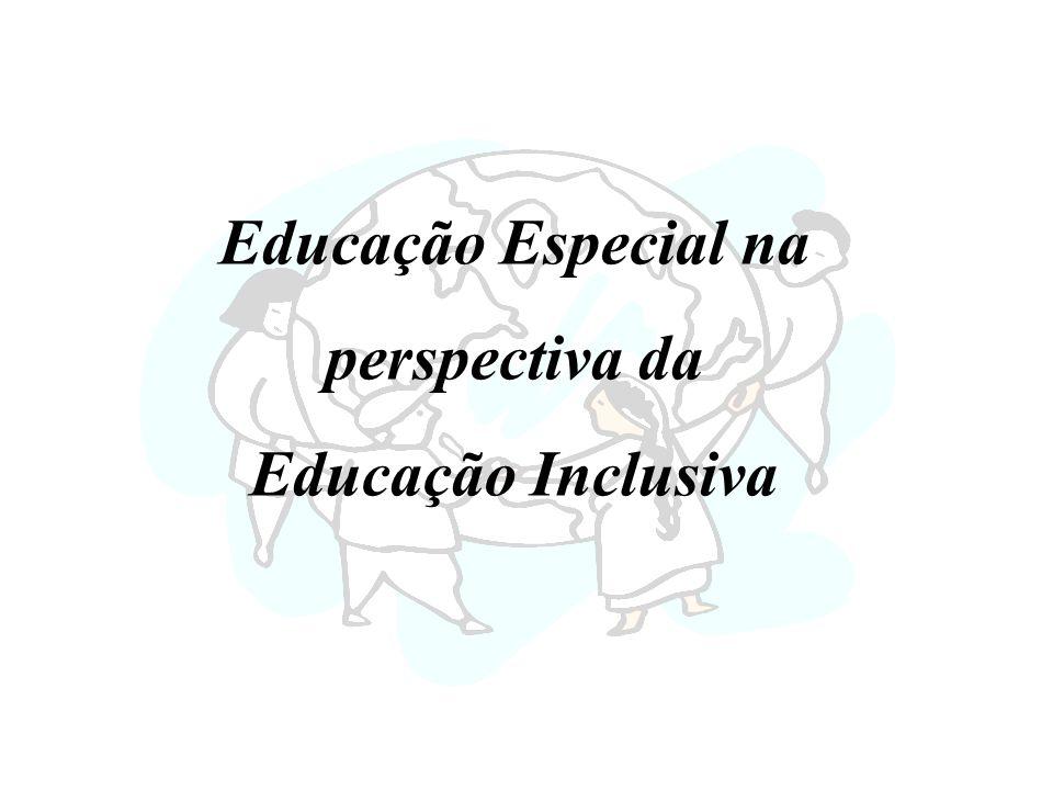 Educação Especial na perspectiva da Educação Inclusiva