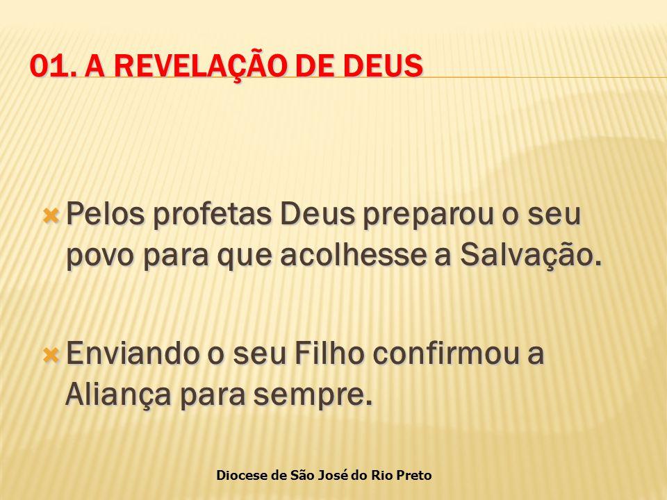 Pelos profetas Deus preparou o seu povo para que acolhesse a Salvação.