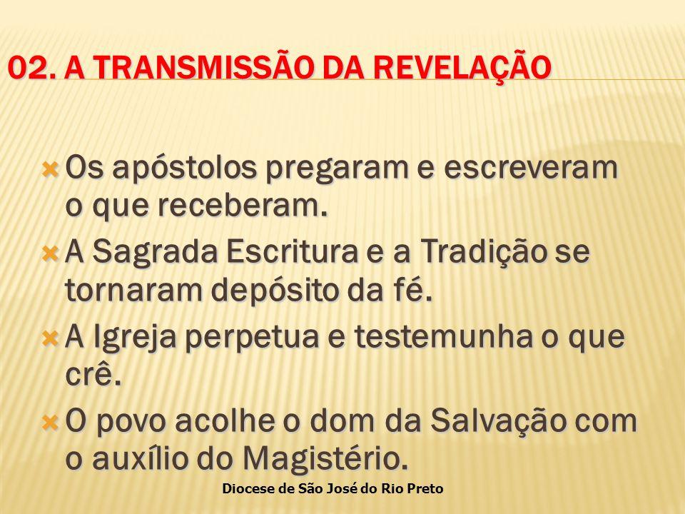 02. A TRANSMISSÃO DA REVELAÇÃO