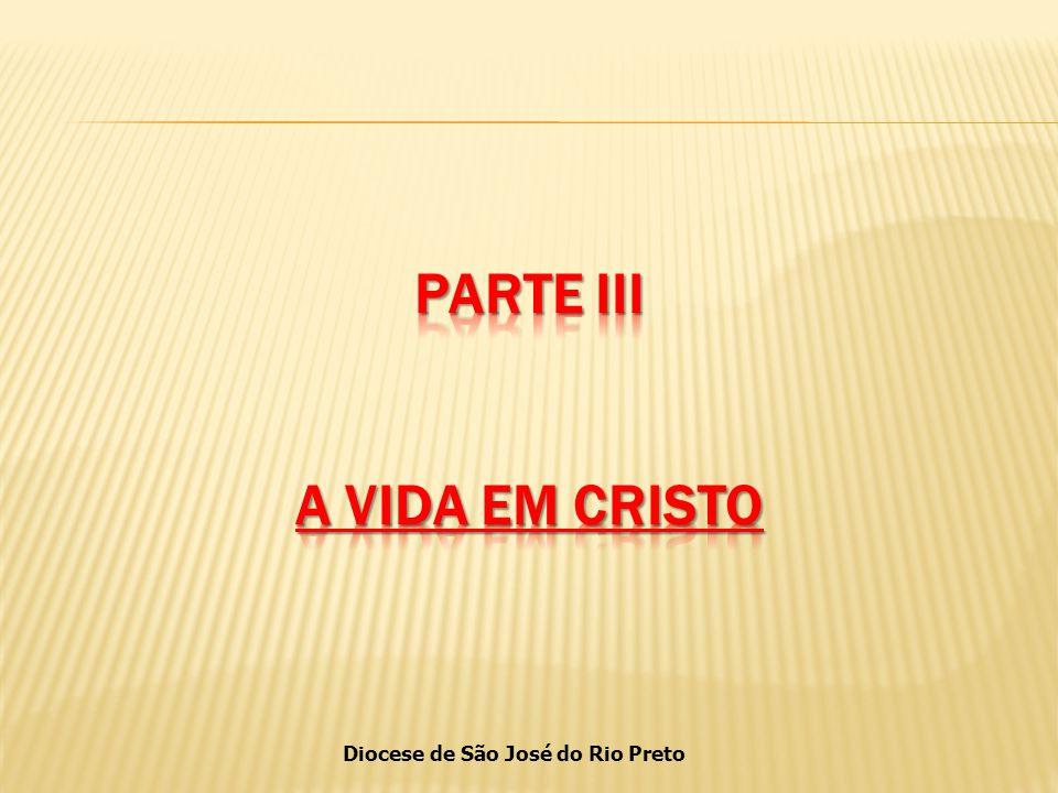 PARTE III A VIDA EM CRISTO