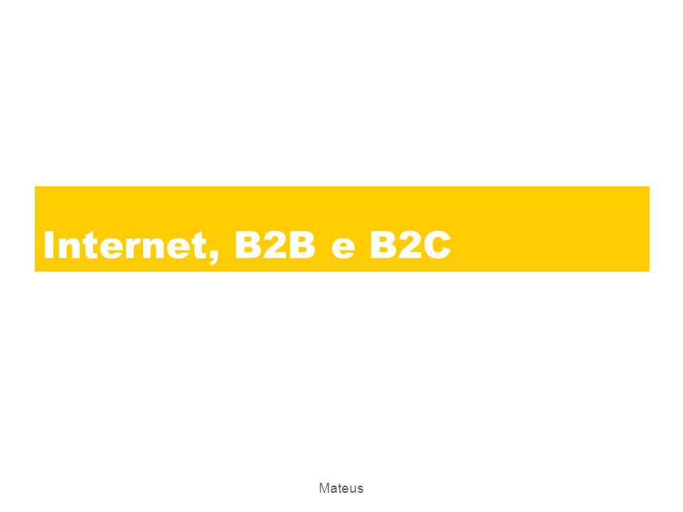 Internet, B2B e B2C Mateus