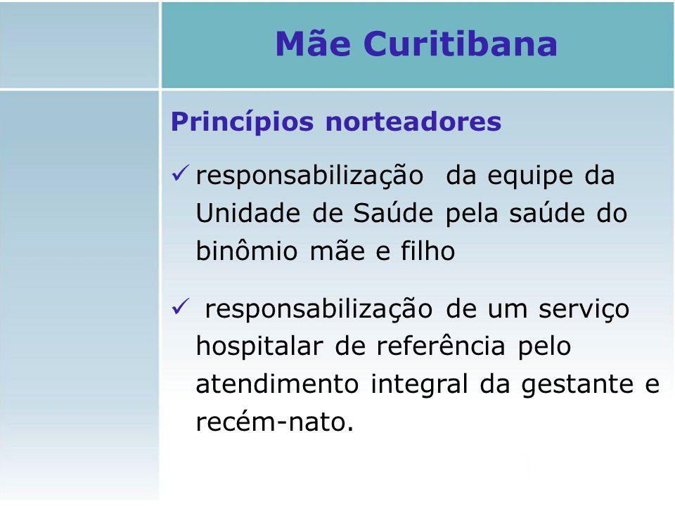 Mãe Curitibana Princípios norteadores